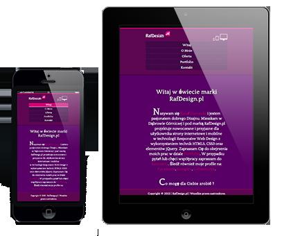 Bądź mobilny i ciesz się swoją własną stroną mobilną na telefon lub tablet